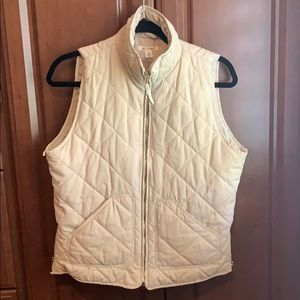 Miami Tan Quilted Vest